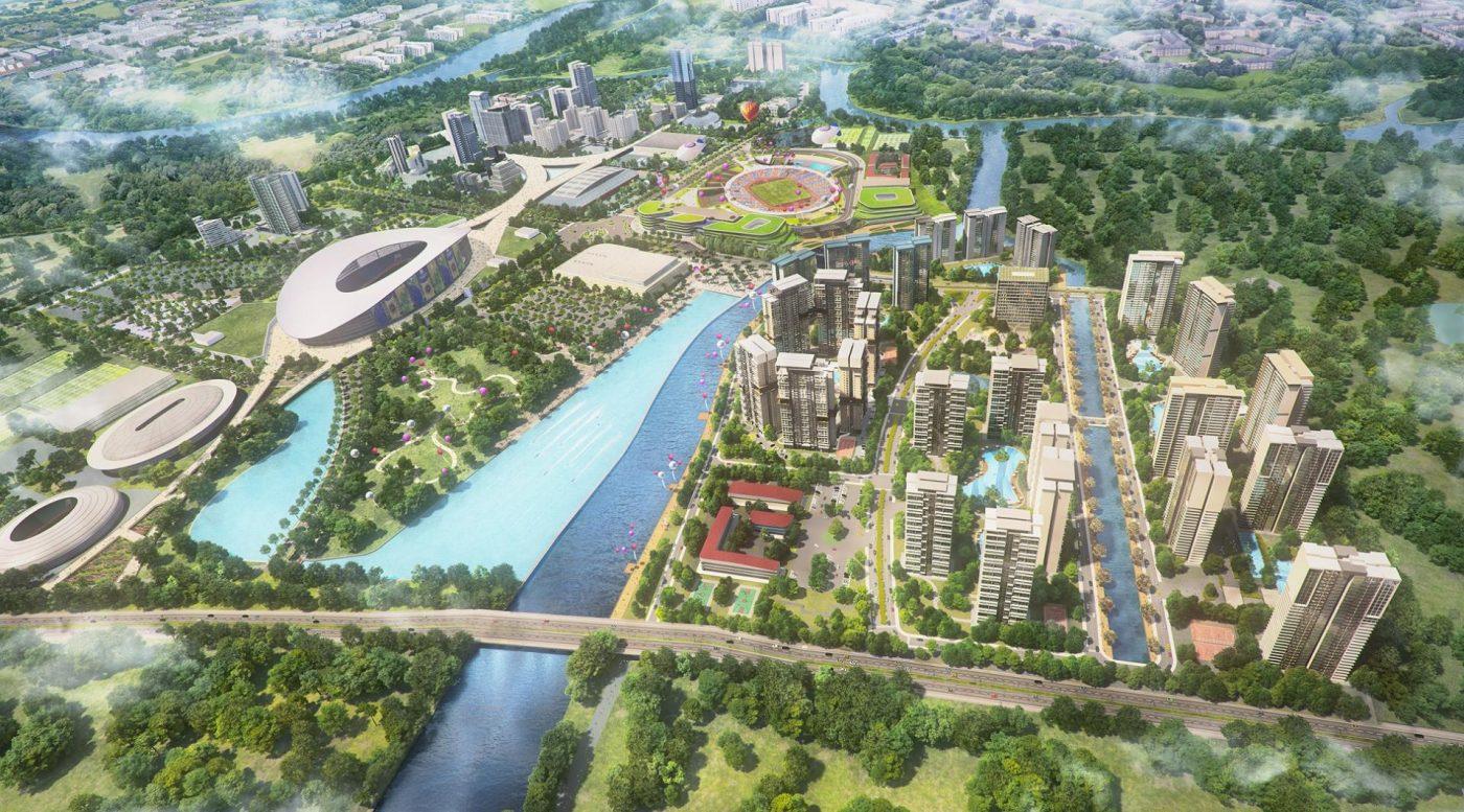 Phối cảnh Dự án căn hộ Velona quận 2 - Saigon Sports City - Keppel Land.