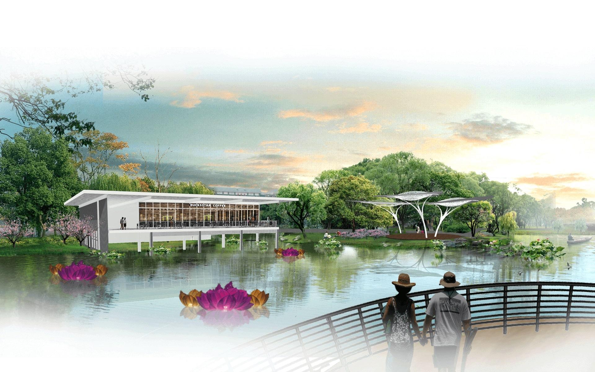 Tiện ích cộng đồng tại Dạo bộ thể thao Saigon Sports City quận 2 - Căn hộ Velona Keppel Land 1.