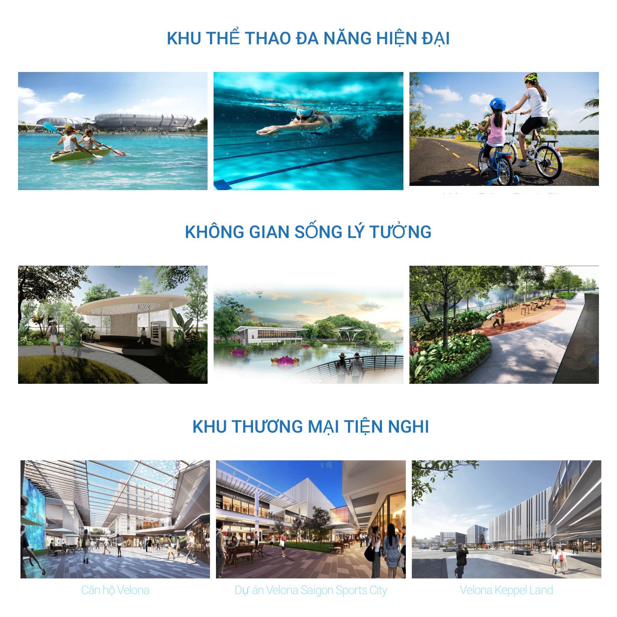 Tiện ích khu đô thị Saigon Sports City quận 2
