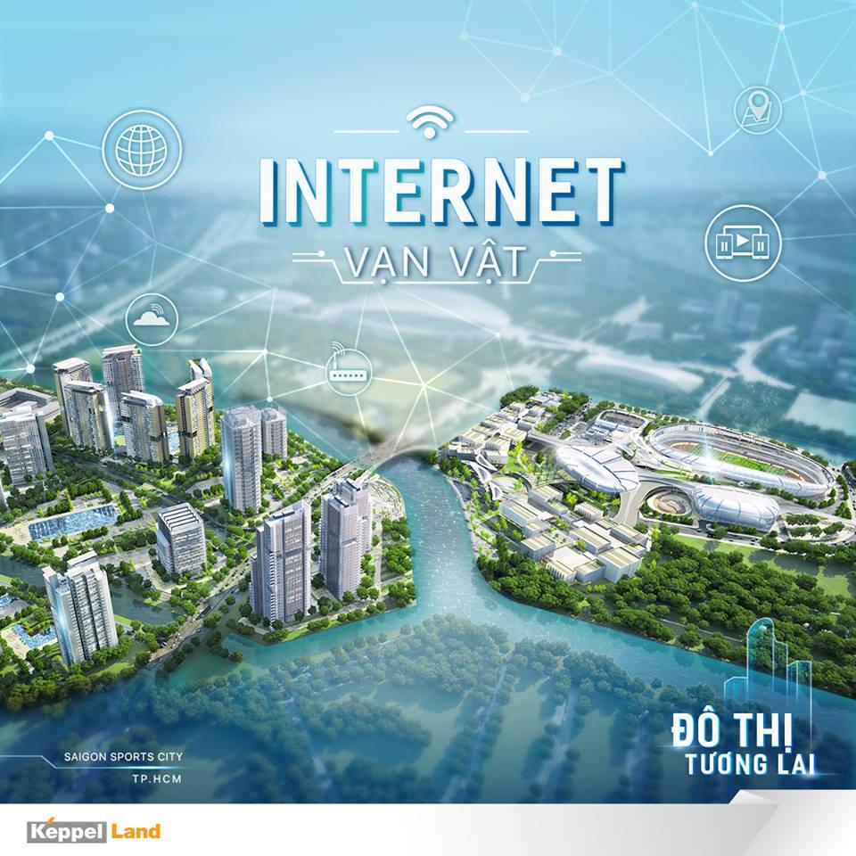Ứng dụng công nghệ thông minh 4.0 vào dự án Saigon Sports City quận 2 - Căn hộ Velona Keppel Land.