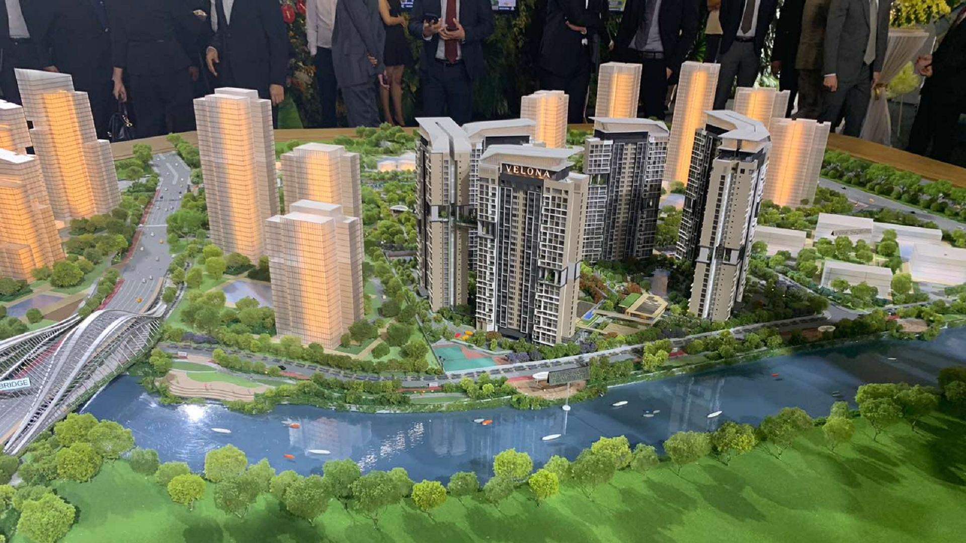 Banner dự án Căn hộ Velona Keppel Land - Saigon Sports City tại quận 2.